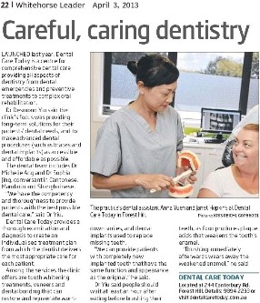 Caring, careful dentistry in City of Whitehorse